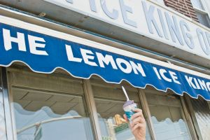 Raising a Lemon Ice to the Lemon Ice King.